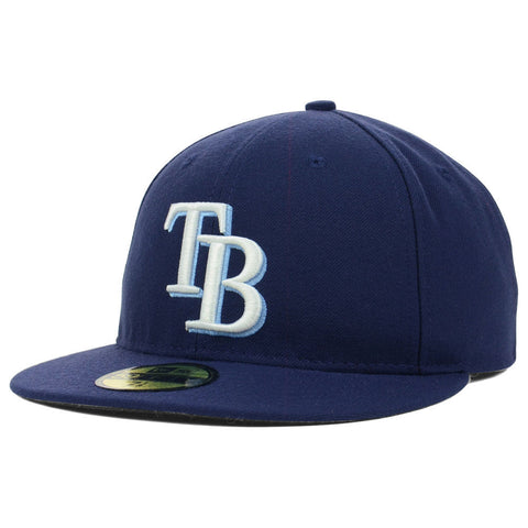 New Era MLB Authentic Cap Tampa Bay Rays On-Field Game Light Navy