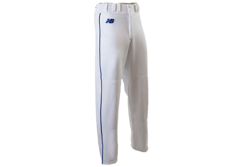 New Balance 2000 Youth Piped Open Cuff Pant - White Royal
