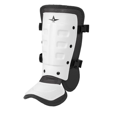 All-Star Universal Batter's Ankle Guard LGB3 - White Black