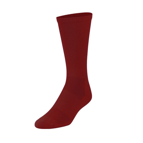 Twin City Performance Crew Socks - Maroon