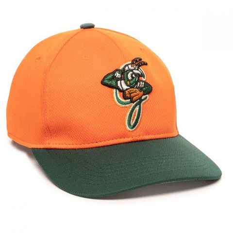 OC Sports MIN-350 MiLB Replica Polyester Baseball Cap - Greensboro Grasshoppers