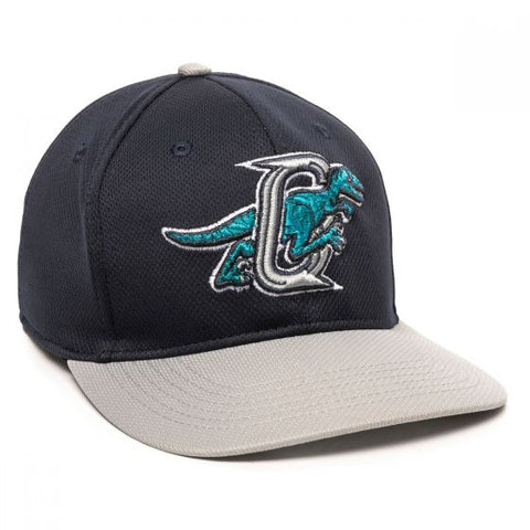 OC Sports MIN-350 MiLB Replica Polyester Baseball Cap - Ogden Raptors - HIT A Double