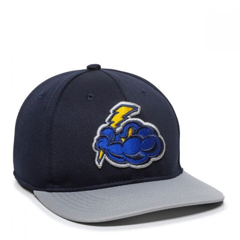 OC Sports MIN-350 MiLB Replica Polyester Baseball Cap - Trenton Thunder - HIT A Double