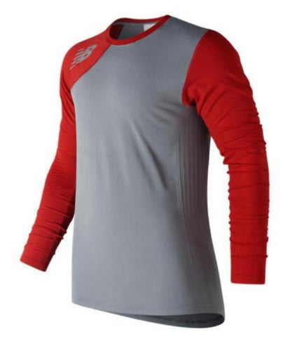 New Balance Seamless X4J Asymmetrical Shirt Right - Red