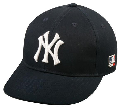 OC Sports MLB-300 MLB Cotton Twill Baseball Cap - New York Yankees Home & Road