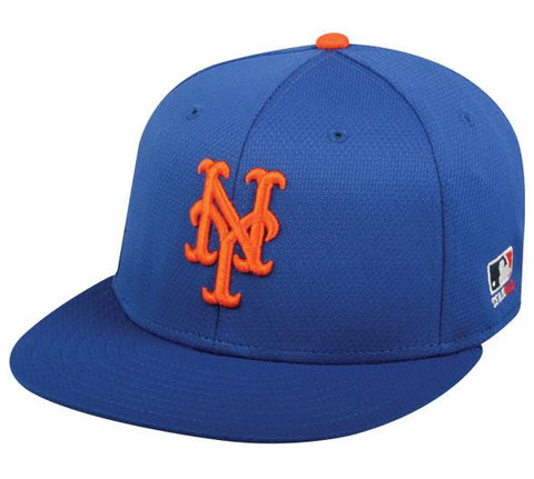OC Sports MLB-400 MLB Mesh Baseball Cap - New York Mets Home & Road