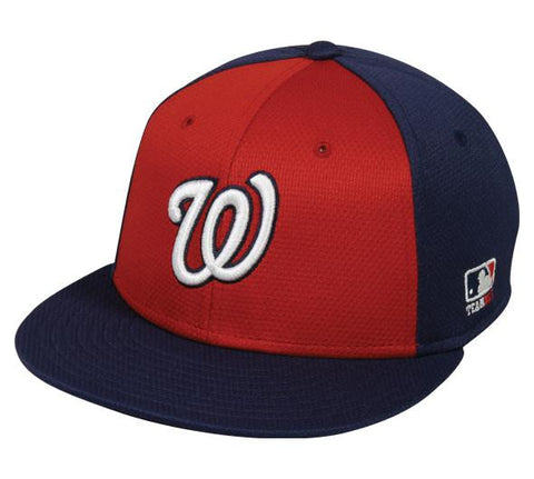 OC Sports MLB-400 MLB Mesh Baseball Cap - Washington Nationals Colorblock