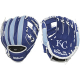 "Wilson A200 Royals 10.00"" T-Ball Glove WTA02RB16KAN"