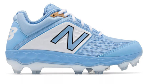 New Balance 3000v4 TPU Molded Cleat Low-Cut - Baby Blue White