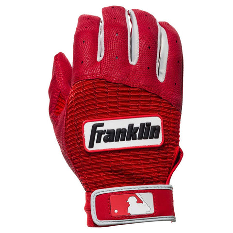 Franklin Pro Classic Youth Batting Gloves - Red
