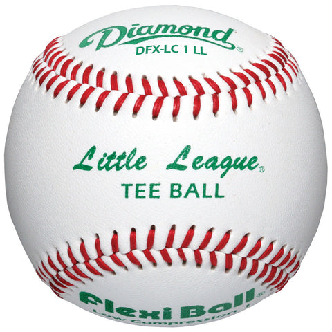 Diamond Little League Low Compression Level 1 Tee Ball Baseball - 1 dozen