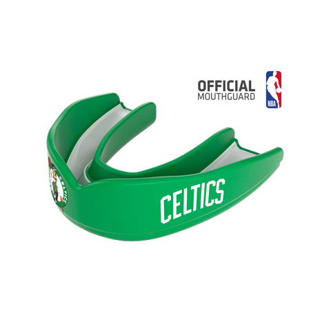 Shock Doctor 8301 SuperFit Basketball NBA Mouthguard Boston Celtics - Green White