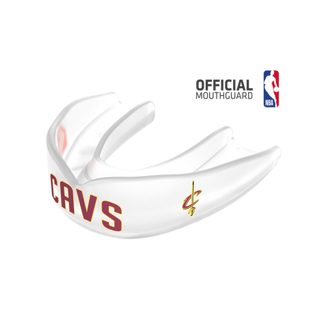 Shock Doctor 8303 SuperFit Basketball NBA Mouthguard Cleveland Cavaliers - Clear