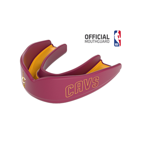 Shock Doctor 8303 SuperFit Basketball NBA Mouthguard Cleveland Cavaliers - Wine Gold