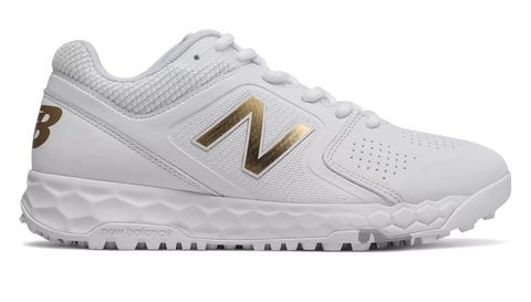 New Balance STVELOv1 Fastpitch Fresh Foam Turf Shoe - White