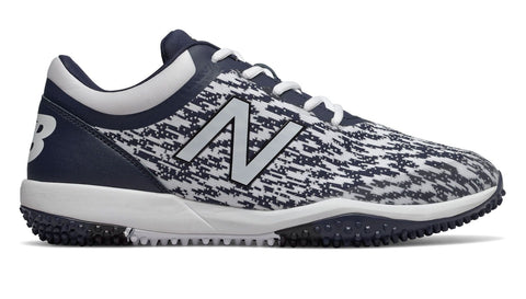New Balance T4040v5 Turf Synthetic Mesh Shoes - Navy White