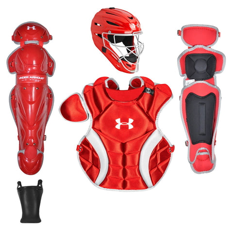 Under Armour PTH Victory Junior Catchers Gear Kit UACKCC2-JRVS - Scarlet