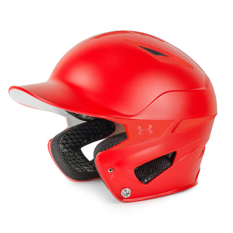 Under Armour Youth Solid Converge Batting Helmet UABH2-150 - Scarlet