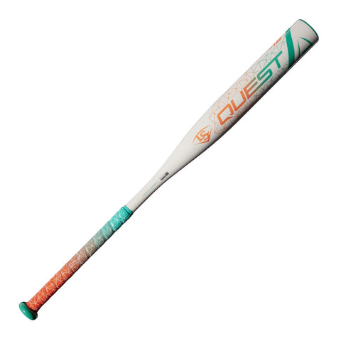 Louisville Slugger 2018 Quest (-12) Fastpitch Bat - Green White