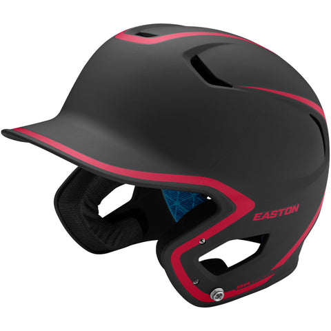 Easton Z5 2.0 Matte Two-Tone Batting Helmet - Black Red