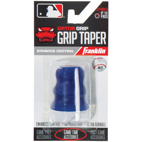 Franklin Sports MLB Gator Grip Taper Navy - Baseball Accessories, Softball Accessories - Hit A Double - 1