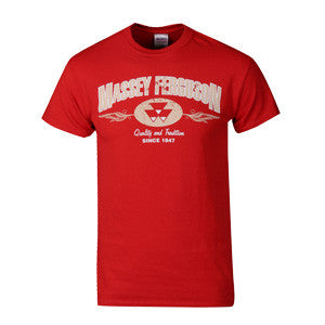 03031 Massey Ferguson Red Tee Shirt