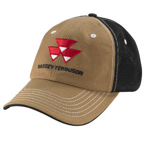 03440 Massey Ferguson Canvas Mesh Hat
