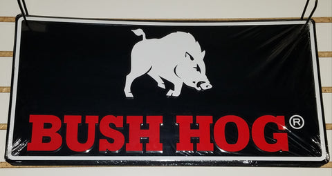 Bush Hog Brand Logo Sign