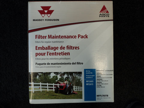 MFFLTKITB - 2605, 2615, Massey Ferguson Maintenance Packs