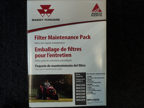 MFFLTKITD - GC2300-2610, Massey Ferguson Maintenance Packs