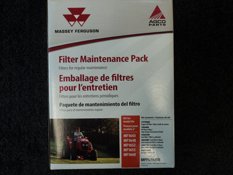 MFFLTKITE - 1643, 1648, 1652, 1655, 1660, Massey Ferguson Maintenance Packs