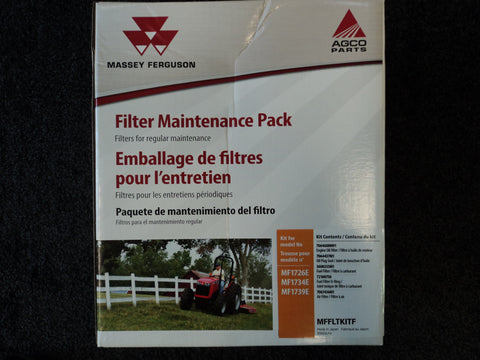 MFFLTKITF - 1726E, 1734E, 1739E, Massey Ferguson Filter Maintenance