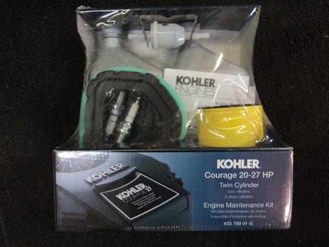 KOHLER Engine Maintenance Kit Courage Series 20-27 HP 32 789 01-S