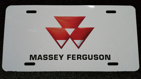 License Plate - Massey Ferguson