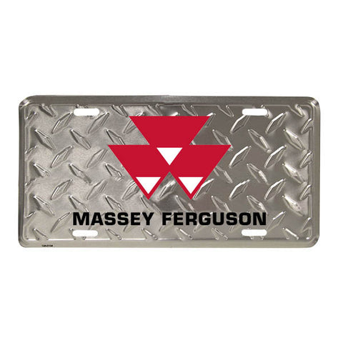 Massey Ferguson Diamond Cut License Plate