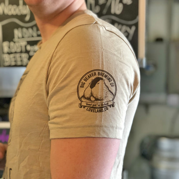 Bust-A-Nut Brown Ale Logo T-Shirt