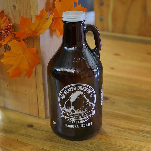 Big Beaver Logo 32 oz. Growler