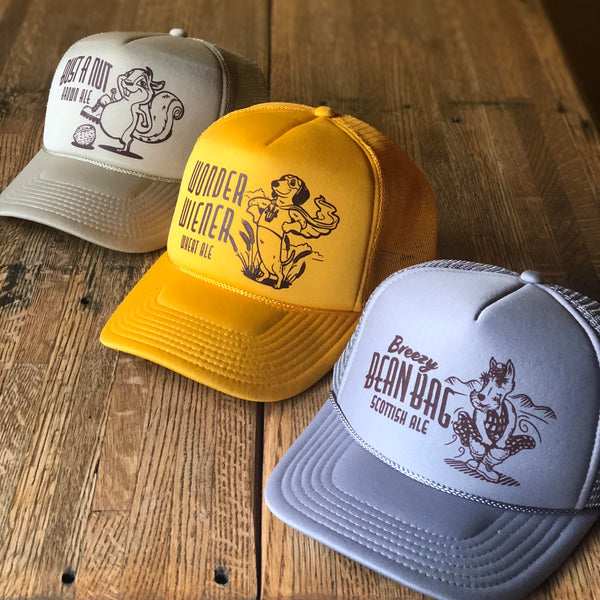 Beer Logo Trucker Caps
