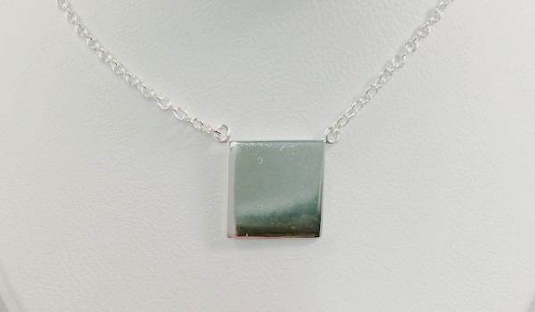 Simple Square Necklace