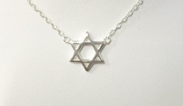 Simple Star of David Necklace