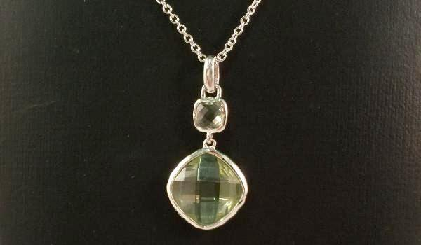 Double Green Amethyst