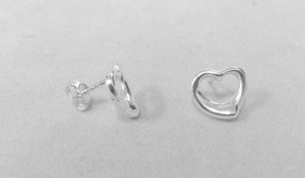 Free-form Heart Studs