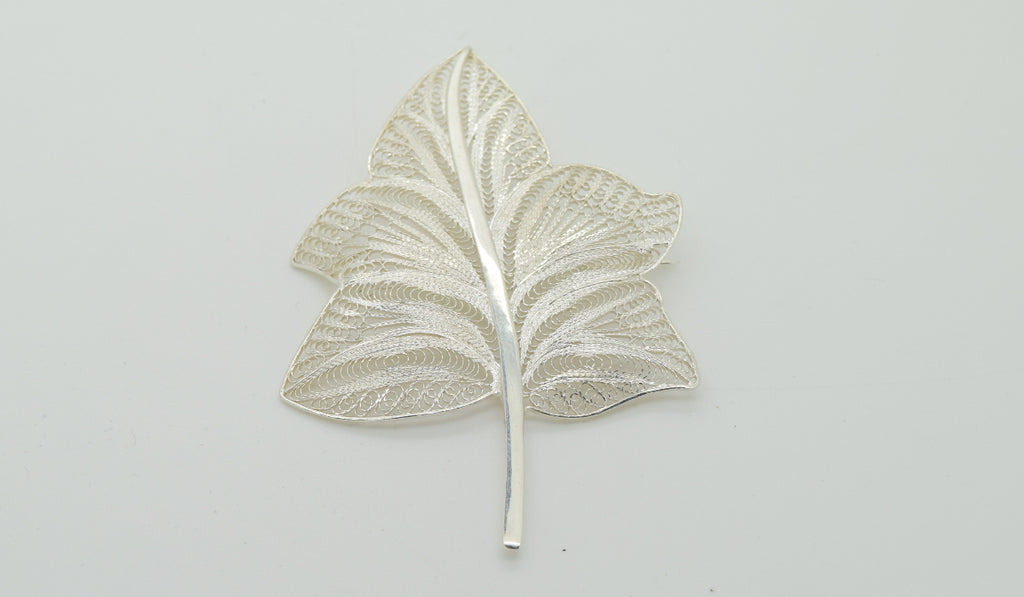 Leaf Brooch