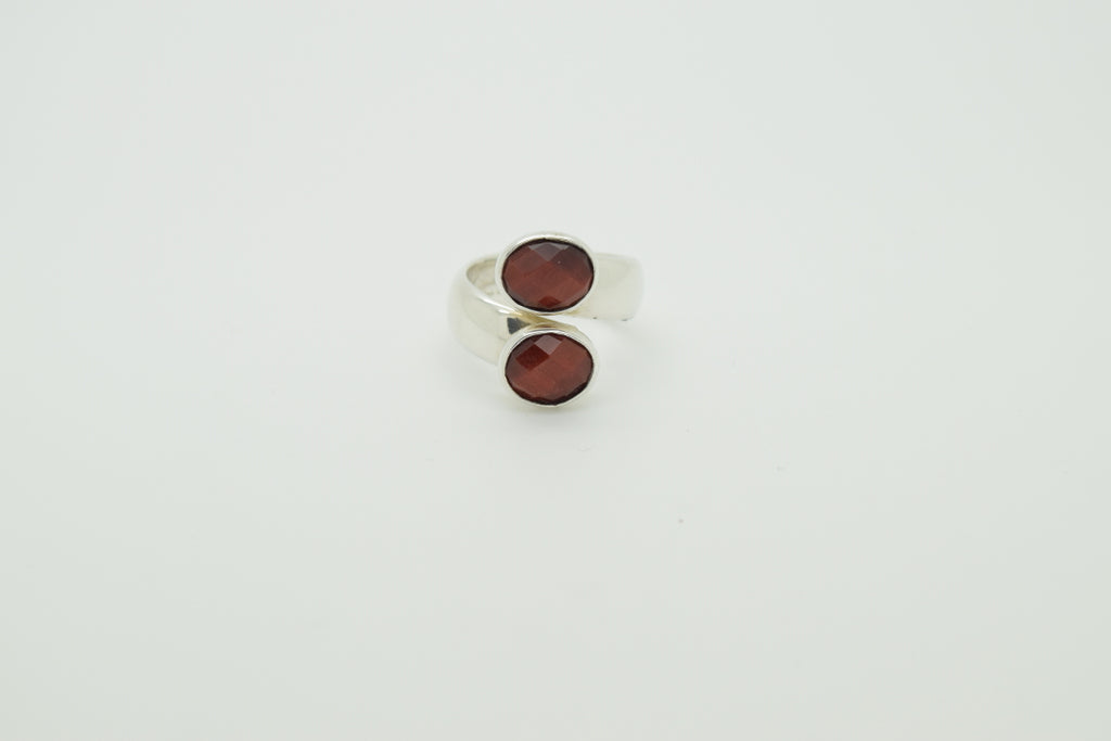 Red Tiger Eye Ring