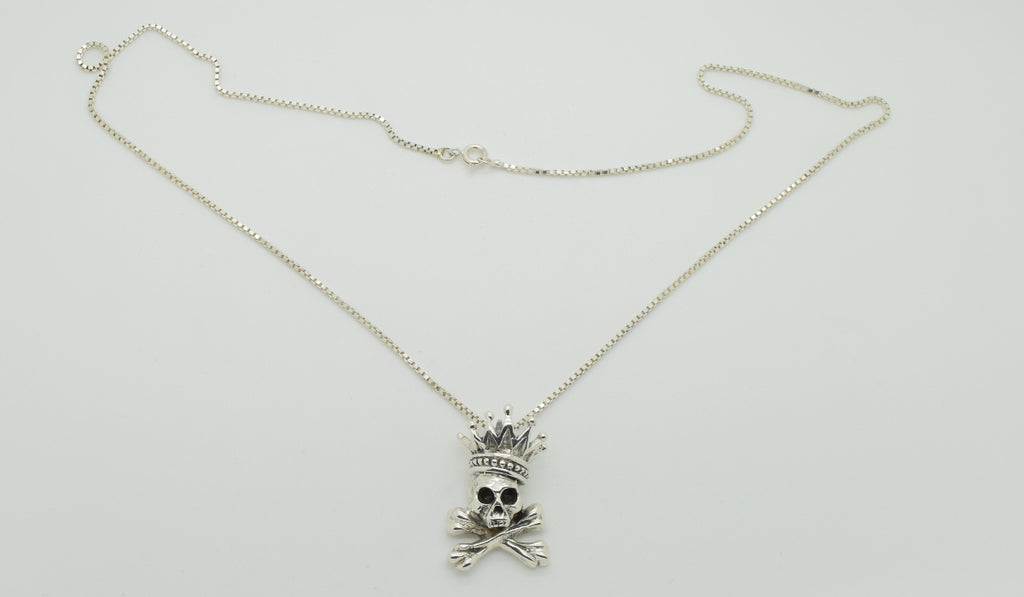 King Baby Skull Necklace