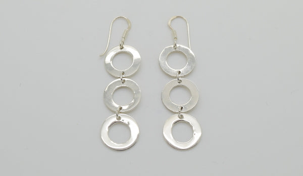 3 Loop Earrings