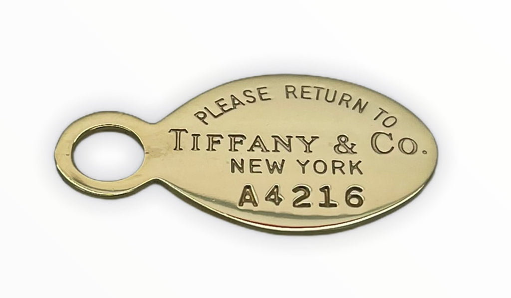 Tiffany & Co Oval Tag