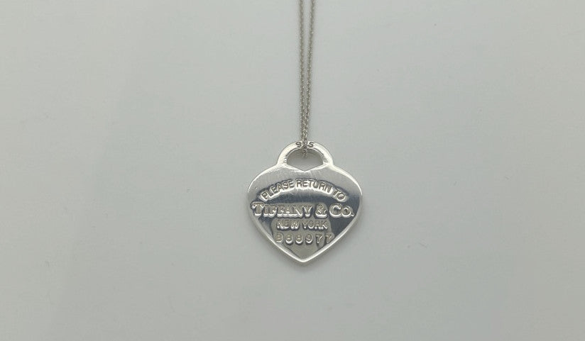 Tiffany return to Tiffany heart tag necklace