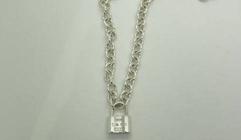Tiffany & Co Padlock Necklace