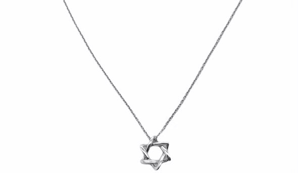 Tiffany & Co Star of David Necklace